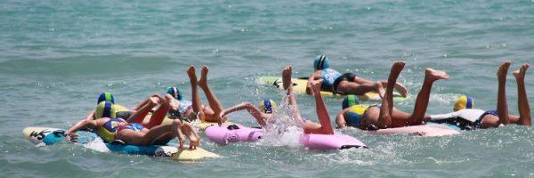 OLAS, SURF LIVE SAVING Y MEDALLAS EN EL REGIONAL DE AGUAS ABIERTAS